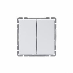 KYTKIN IMPRESSIVO 5/16AX/250V/IP21 UKJ 2X VAL