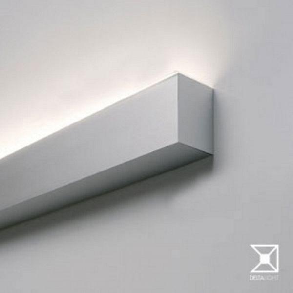 LED-kattovalaisin Trio Indira 65x2450x500 mm harjattu teräs