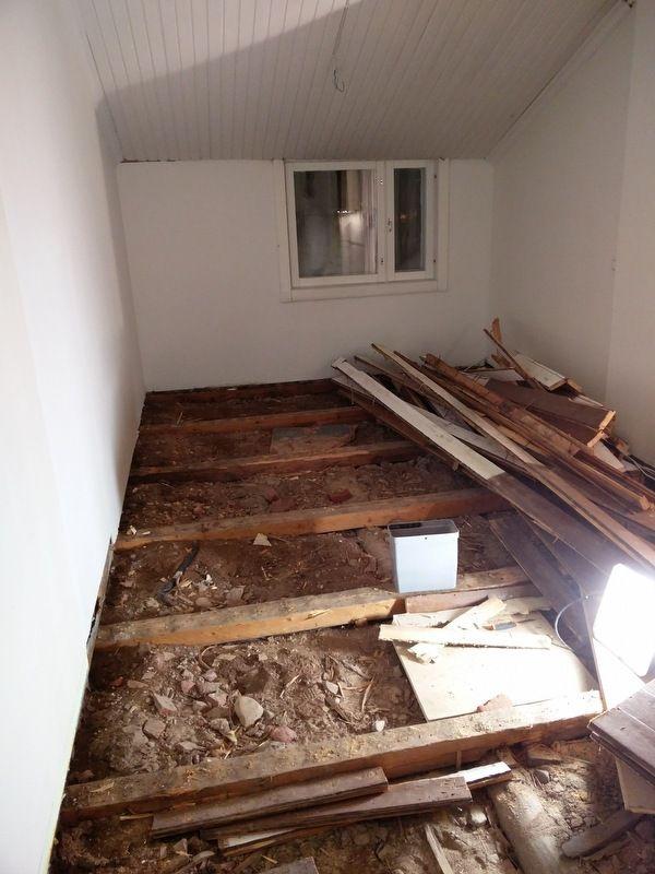 Vanhan talon rakennuslupa