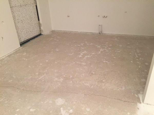 Haljenneen betoniseinän korjaus