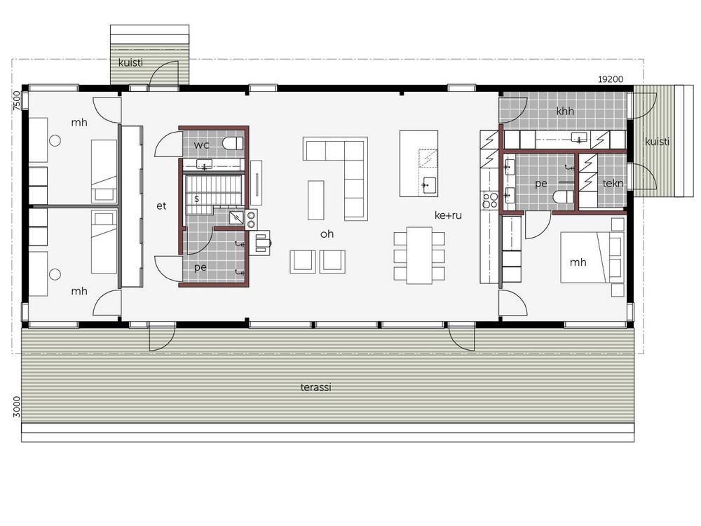 Kontio Glass House 150A