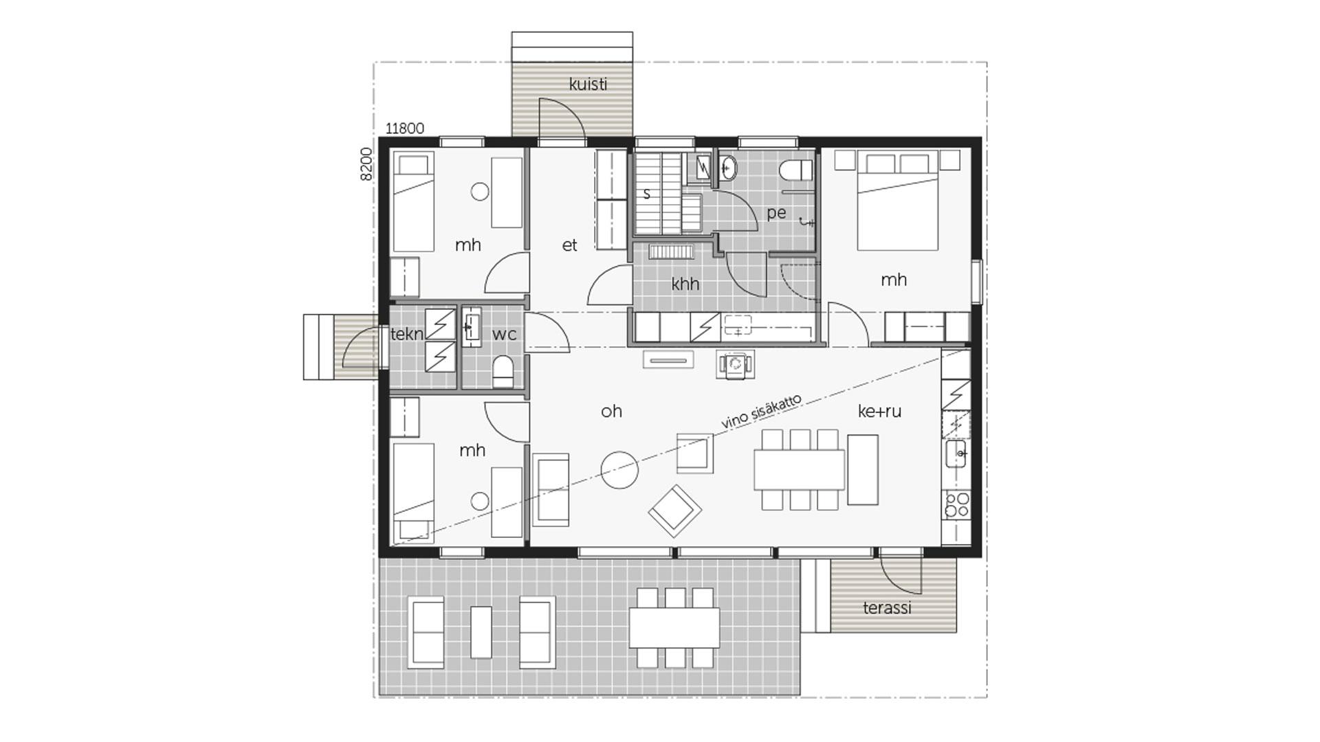 Kontio Sky House 100A