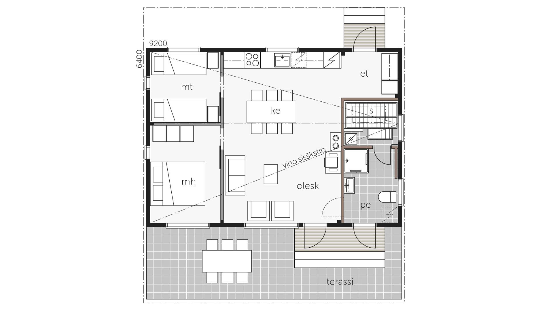 Kontio Sky House™ 60