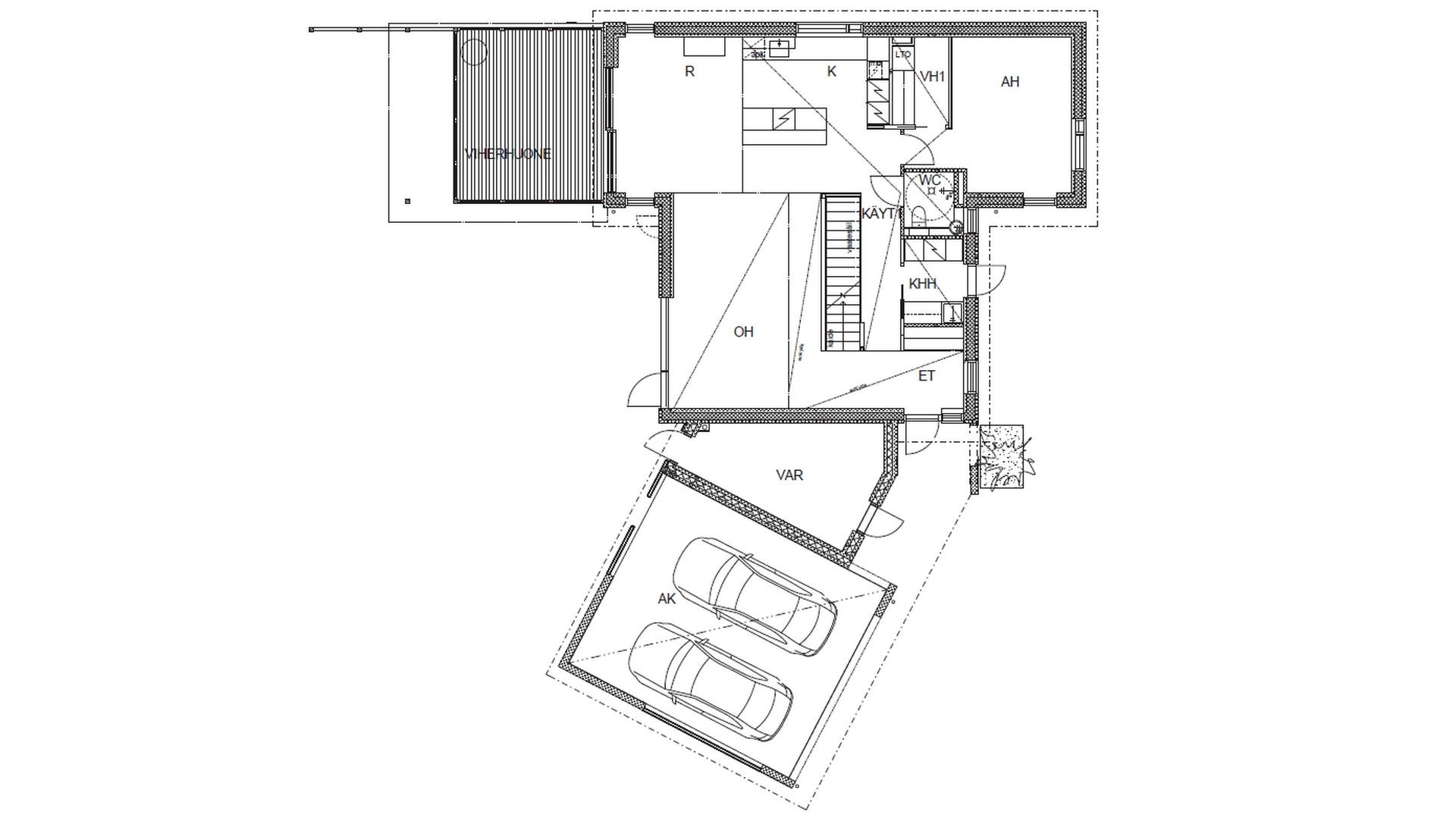 Lammi-Kivitalot Casa del Limon