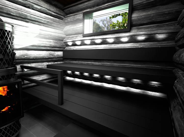 Sun Sauna Log