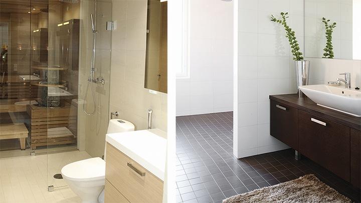 Tuotteet kylpyhuoneen rakentamiseen - Weber