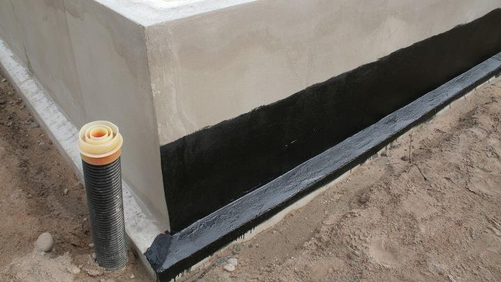 Perustusten kuivanapito sekä radonin esto