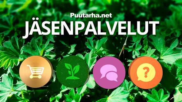 Puutarha.net jäsenpalvelut