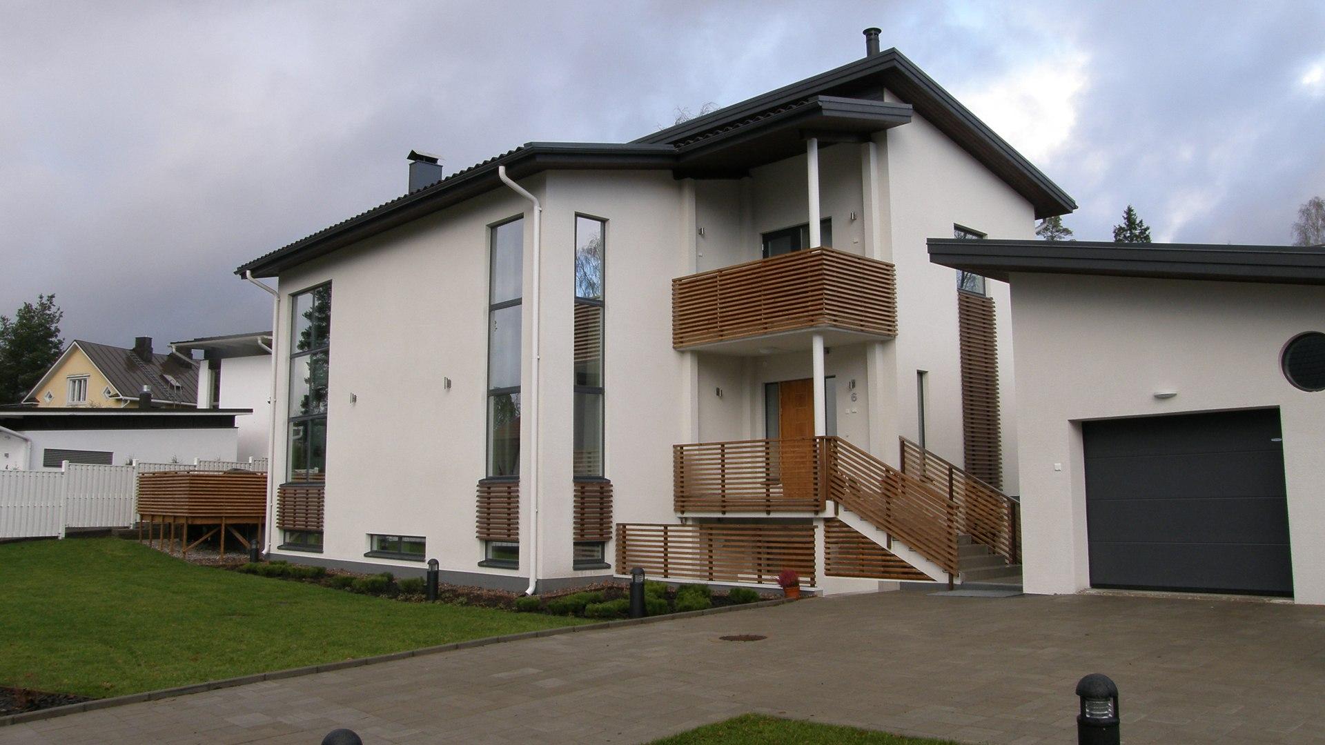 Passiivienergiatalo Villa Borg