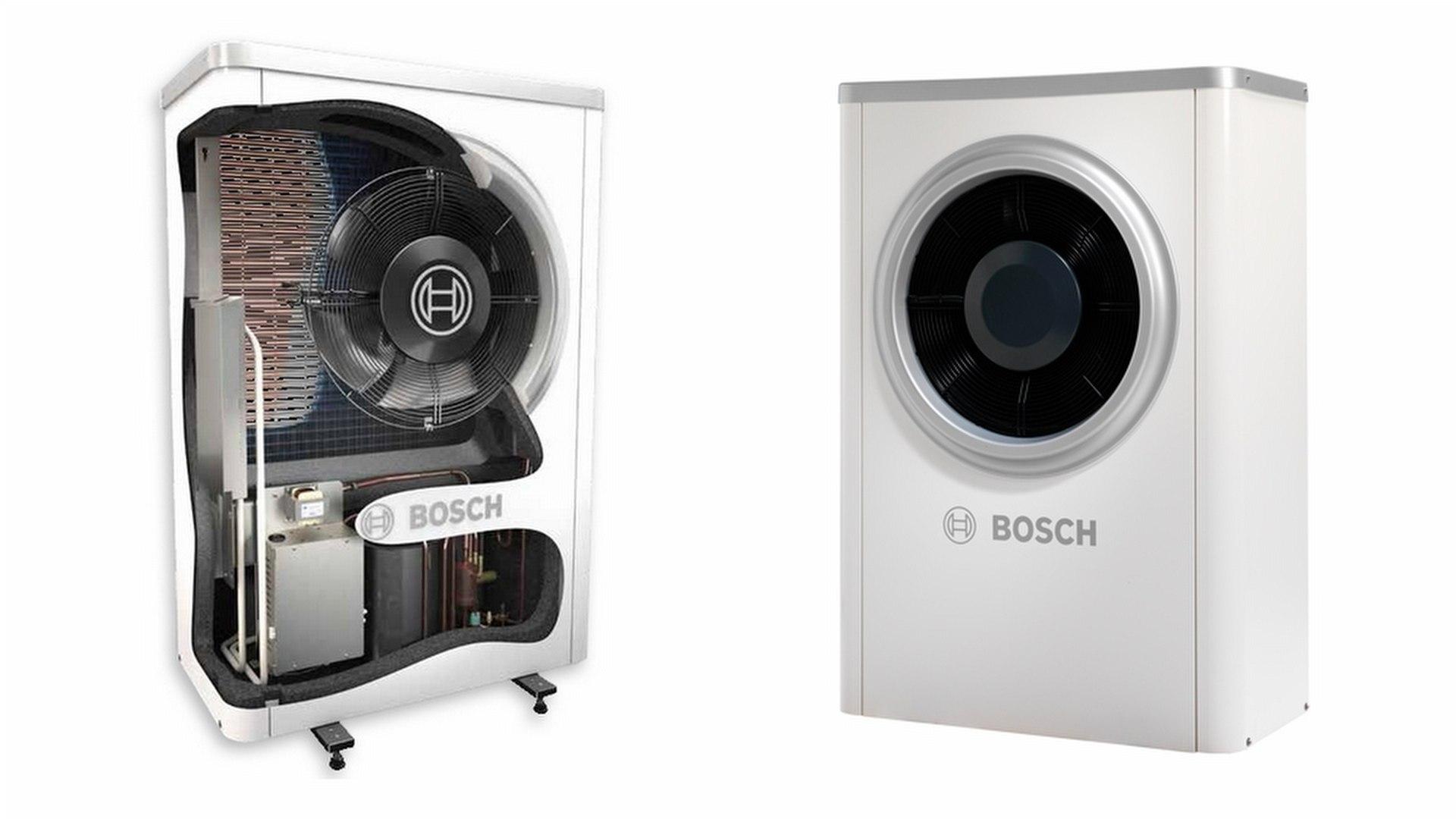 Bosch ilma-vesilämpöpumppu