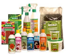 Neko-tuotteet puutarhaan