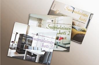 Suomalainen koti -sisustuskirjat