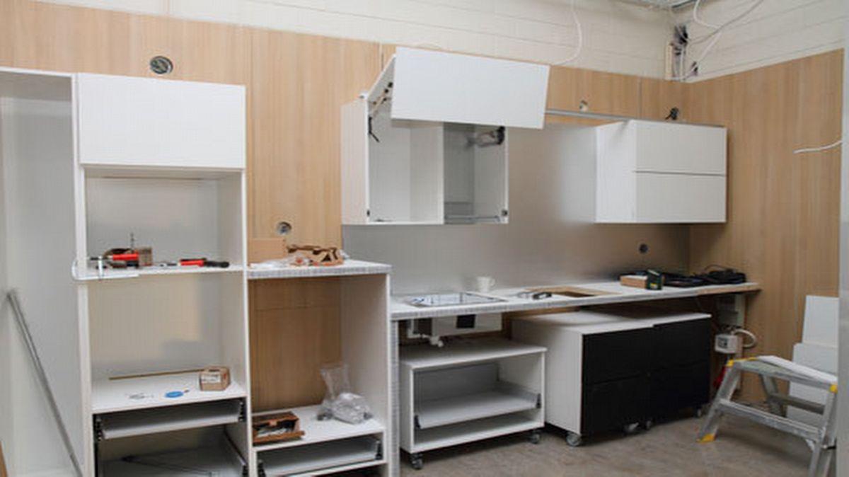 Esteettömän keittiön rakentaminen