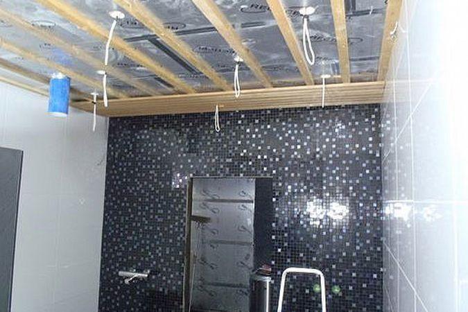 Kylpyhuoneen Katon Höyrynsulku