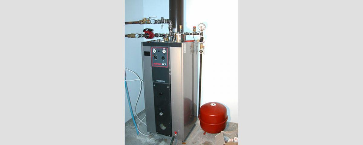 Lämmitysjärjestelmän asennus