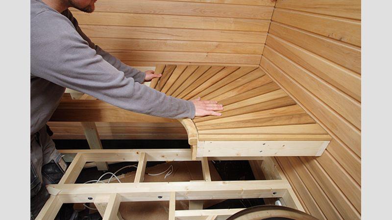 Tee itse saunan lauteet – Portaiden teko rinteeseen
