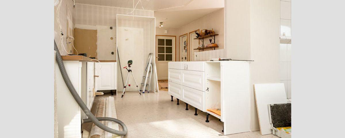 Vanhan keittiön uusiminen