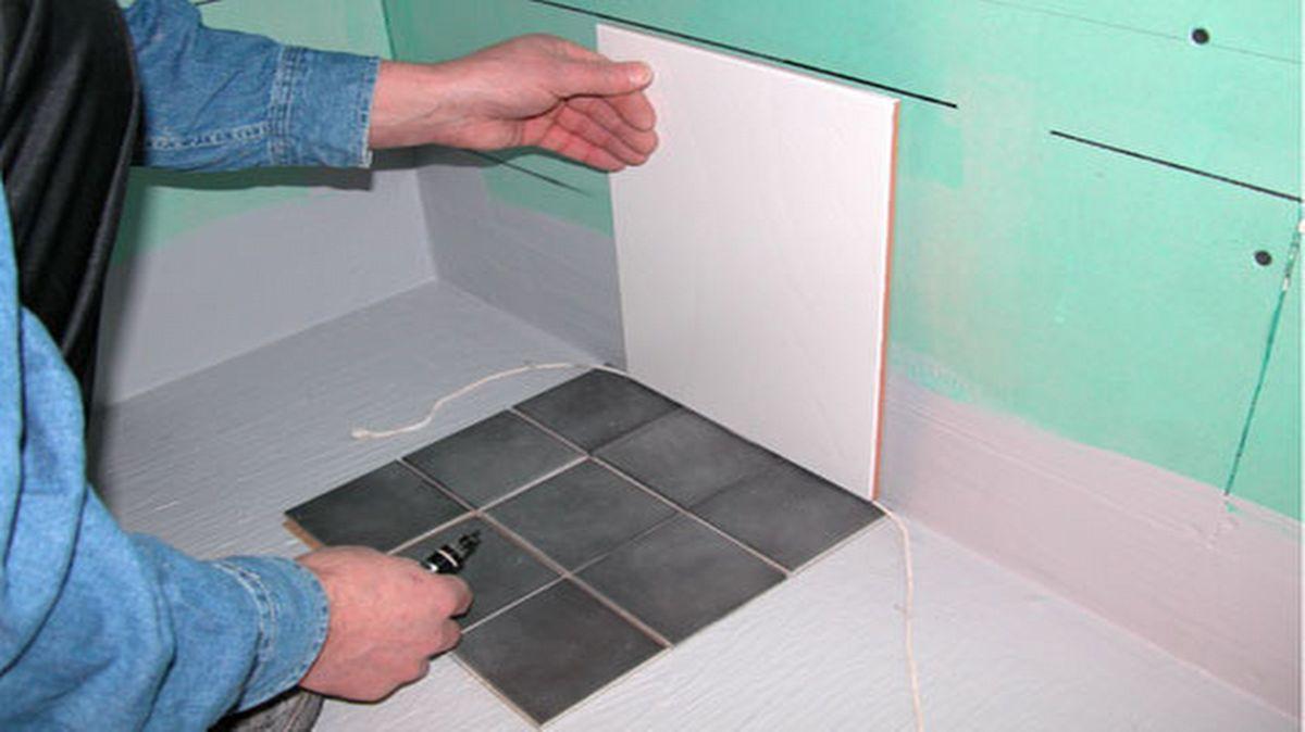 Seinien ja lattian laatoitus