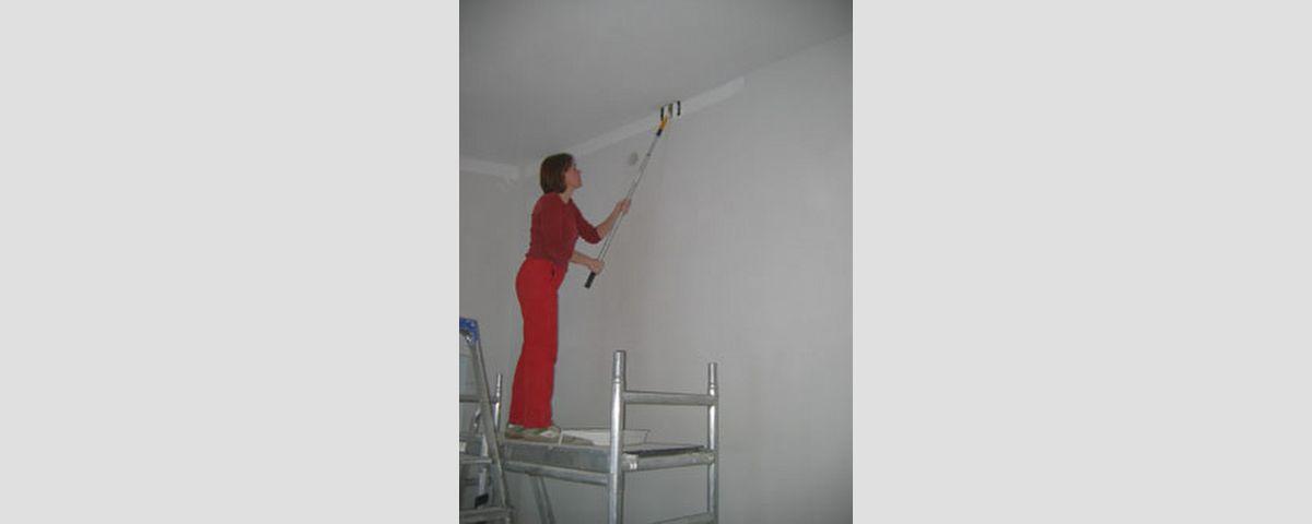 Tasoitetyöt valmiiksi ja aloitetaan seinien maalaukse