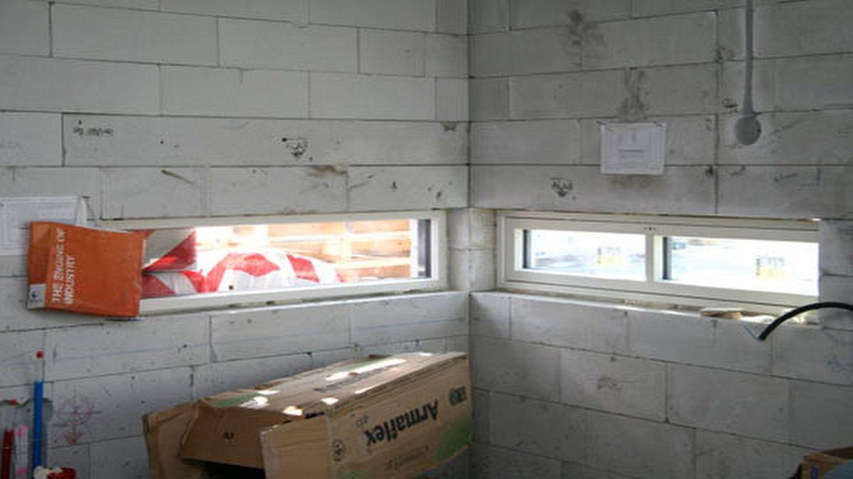 Ikkunat asennettu